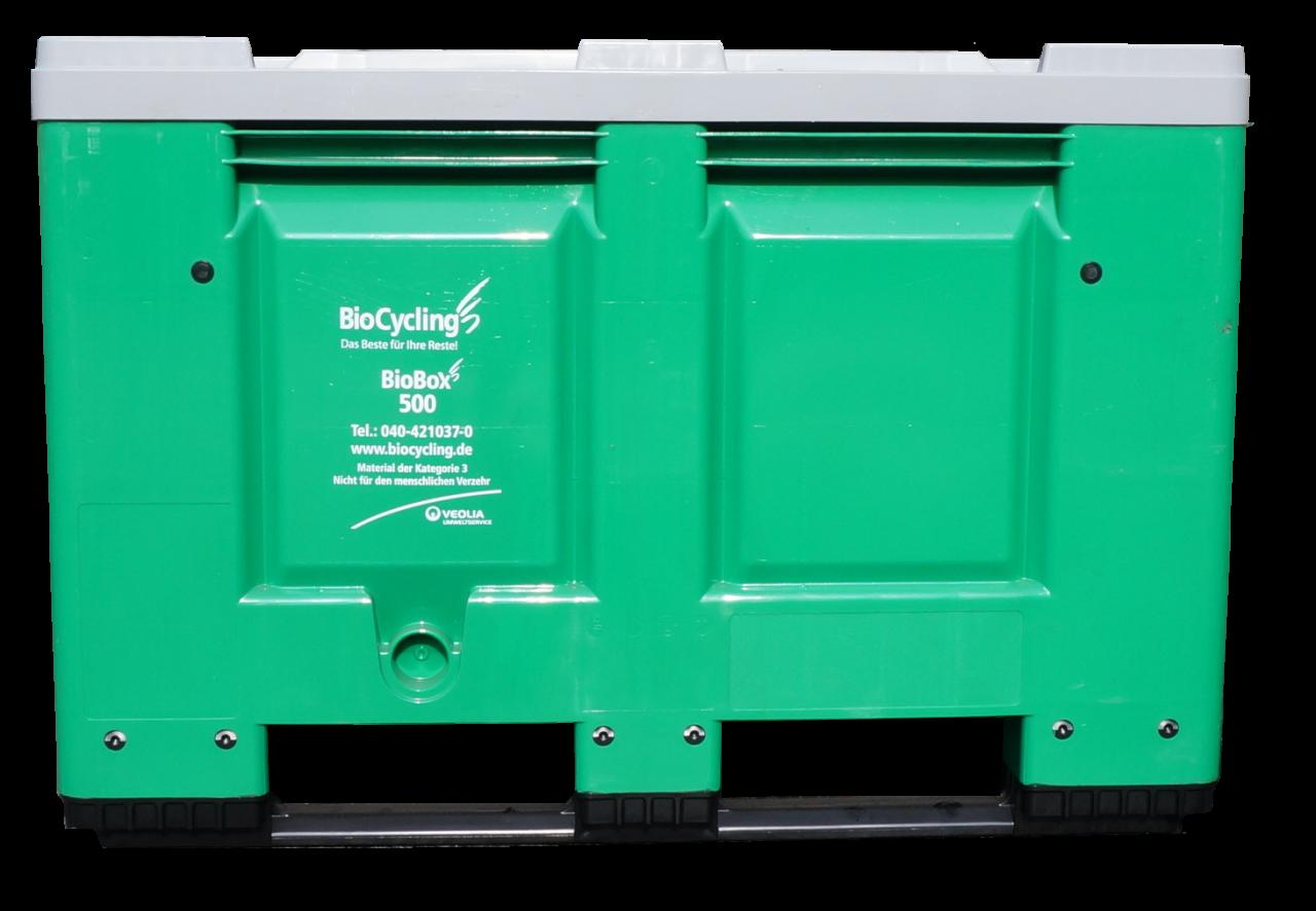 500-Liter-Stapelbox für Fleischabfälle
